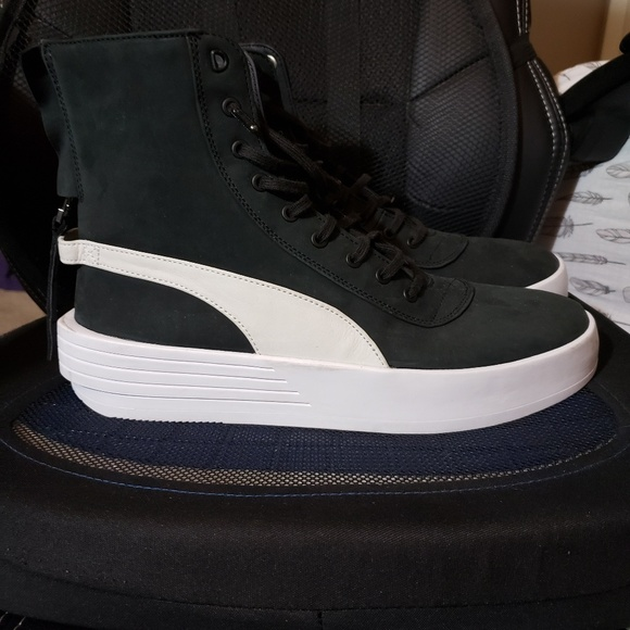 Puma x The Weeknd XO Parallel Black and White